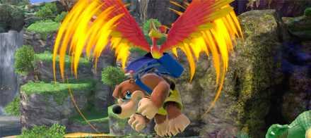 バンジョーとカズーイの空中上攻撃
