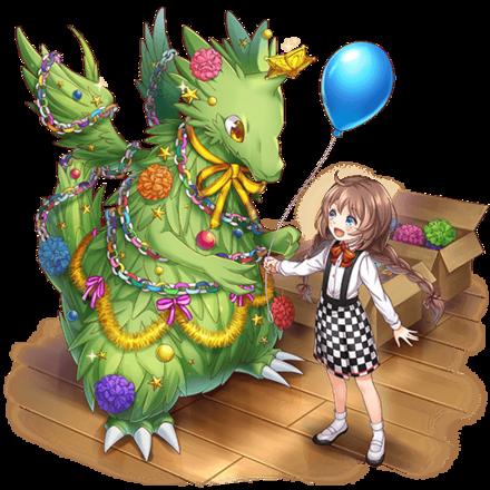 [キラキラ飾り]メリードラゴンの画像