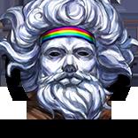愉快な仮装ナイスゴッド先生の画像