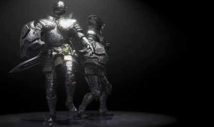 重ね着「銀騎士」
