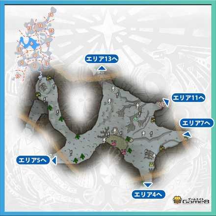 渡りの凍て地エリア6