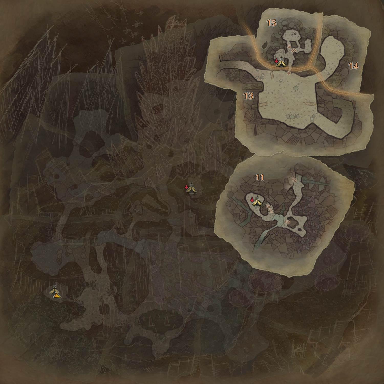 大蟻塚の荒地の1層の画像