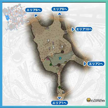 古代樹の森_マップ9