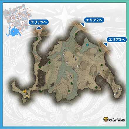 古代樹の森_マップ1