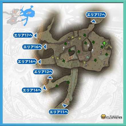 古代樹の森_マップ15