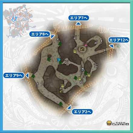 古代樹の森_マップ10