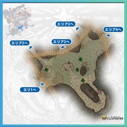 古代樹の森_マップ3