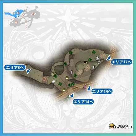 古代樹の森_マップ13