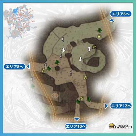 古代樹の森_マップ7