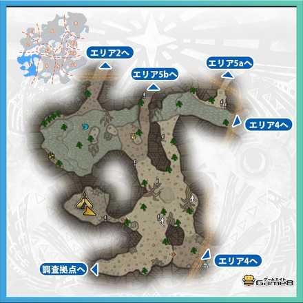 大蟻塚の荒地_マップ1