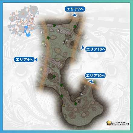 大蟻塚の荒地_マップ9