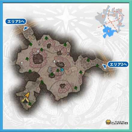 陸珊瑚の台地エリア1