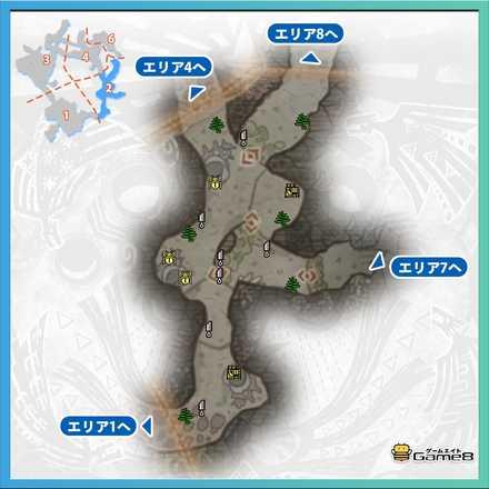 陸珊瑚の台地エリア2