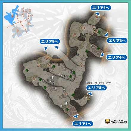 陸珊瑚の台地エリア3