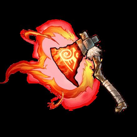 【四聖】讐炎斧・フェーデハチェットの画像