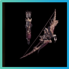 Anjanath Flamebow II Bow Image