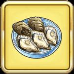 大粒の牡蠣