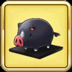 黒豚の置物