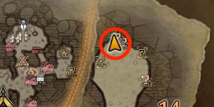 大蟻塚の荒地オタカラ1