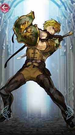 アストリア(アカネイアの英雄)の立ち絵