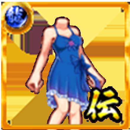 富家のドレスのアイコン