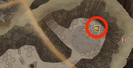 龍結晶の地のオタカラ3の場所