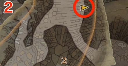 龍結晶の地オタカラ6の2つ目の場所