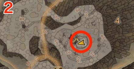 龍結晶の地オタカラ7の2つ目の場所