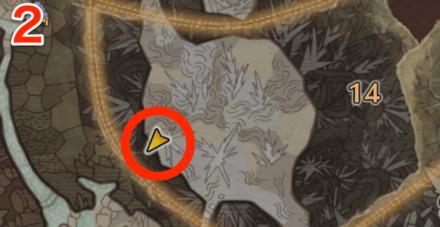 龍結晶の地オタカラ8の2つ目の場所