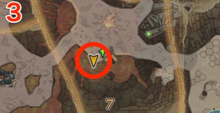 龍結晶の地オタカラ9の3つ目の場所