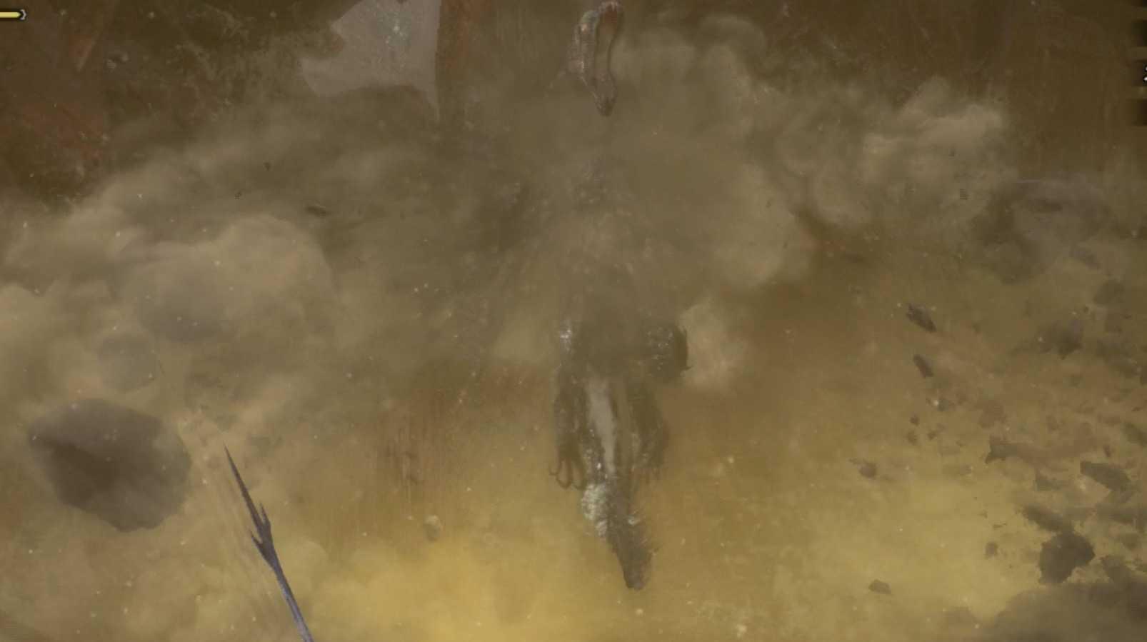 死を纏うヴァルハザク 瘴気大爆発