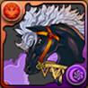 ラオウの愛馬・黒王号の画像