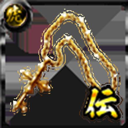 鳳のネックレス【金】の画像