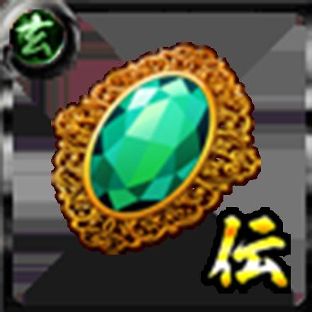 鳳のブローチ【金】のアイコン