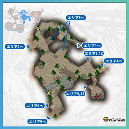 導きの地エリア3