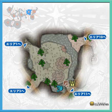 導きの地エリア4