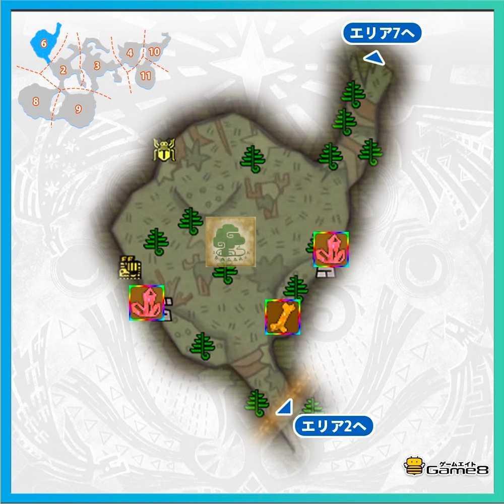導きの地の森林エリア6