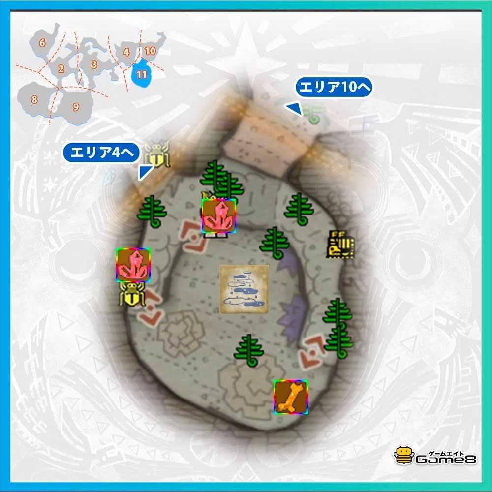 導きの地の陸珊瑚エリア11