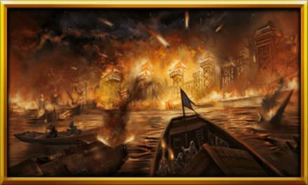 文聘との大戦の画像