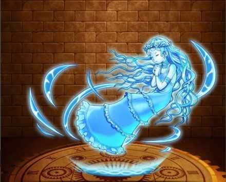 【神】聖母神のオーラ・水の画像