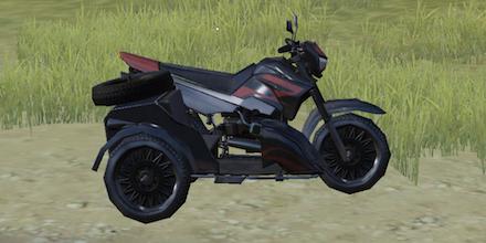 荒野行動 三輪バイク