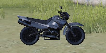 荒野行動 二輪バイク