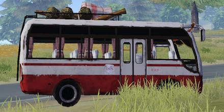 荒野行動 マイクロバス