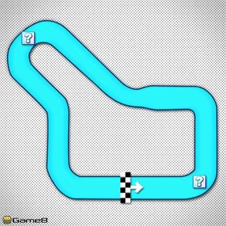 トーキョースクランブルRのショートカットマップ