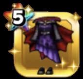 吸血鬼の夜会服・紫