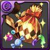 ハロウィンのお菓子袋【金】の画像