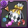 ハロウィンのお菓子袋【銀】の画像