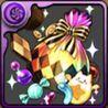 ハロウィンのお菓子袋【虹】の画像