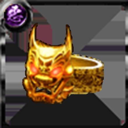 鬼神の指輪【金】の画像