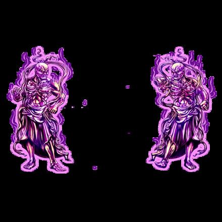 【伝】守護神【紫】